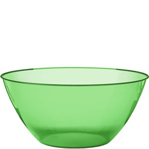 Lime Green Plastic Serving Bowl - 4.7L