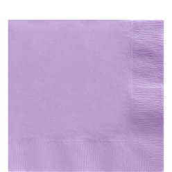 Lilac Luncheon Napkins - 2ply Paper
