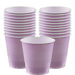 Lilac Cups - 355ml Plastic Party Cups