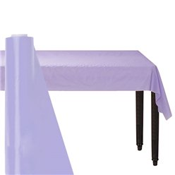 Lilac Table Roll - 30m Plastic