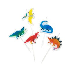 Little Party Dino Birthday Candles