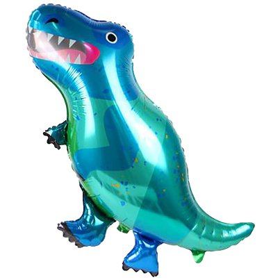 Little Party Dino T-Rex Balloon - Foil
