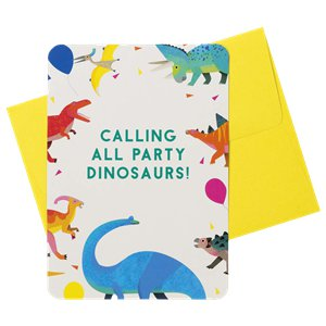 Little Party Dino Invitations