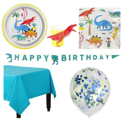 Little Dinos Deluxe Party Pack
