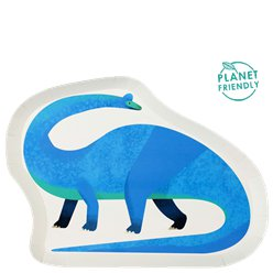 Little Party Dino Shaped Plate