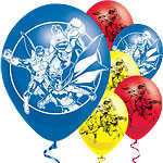 "Justice League Balloons - 11"" Latex"