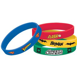Justice League Wrist Bands