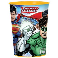 Justice League Plastic Favour Cup - 455ml