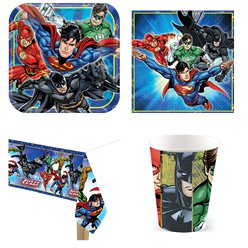 Justice League Party Pack - Value Pack for 8