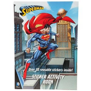 Superman Sticker Activity Book