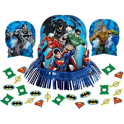 Justice League Table Decorating Kit