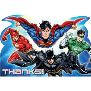 Justice League Thank You Cards