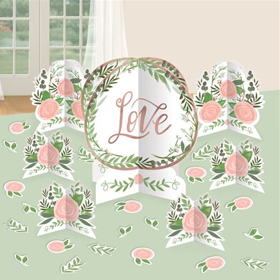 Love & Leaves Table Decorating Kit