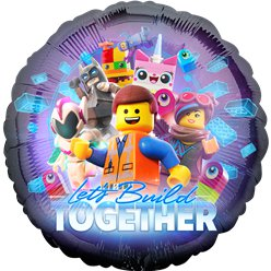 "Lego Movie 2 Balloon - 18"" Foil"