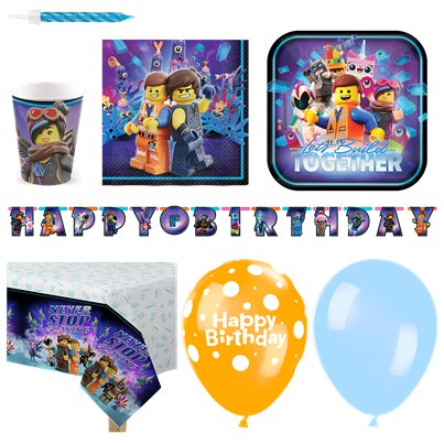 Lego Movie 2 Deluxe Party Pack
