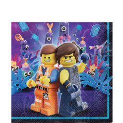 Lego Movie 2 Lunch Napkins - 33cm