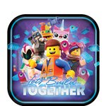 Lego Movie 2 Party Plates - 23cm paper