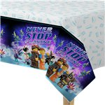 Lego Movie 2 Plastic Tablecover - 1.8m x 1.2m