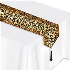 Leopard Print Table Runner - 1.8m
