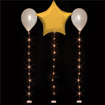 Warm White Balloon Lights - 1m