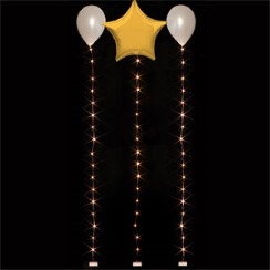 Warm White Balloon Lights - 1.8m