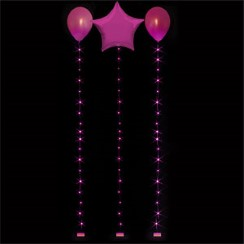 Hot Pink Balloon Lights - 1.8m