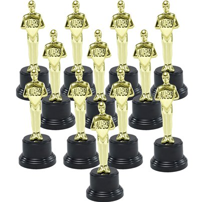 Hollywood Awards Night Winners Trophies 12 pack - Save 20%