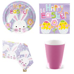 Lilac Easter Party Pack - Value Pack For 8