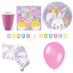 Lilac Easter Party Pack - Deluxe Pack For 16