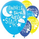 "Twinkle Little Star Balloons - 11"" Latex"