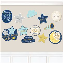Twinkle Little Star Cutout Decorations