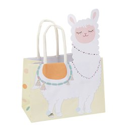Llama Love Mini Paper Favour Bags