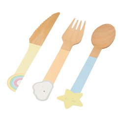 Llama Love Wooden Cutlery Set