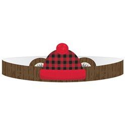 Little Lumberjack Paper Crowns