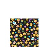 Smiley Beverage Napkins - 2ply Paper