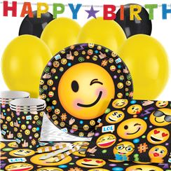 Smiley Party Pack - Deluxe Pack for 16