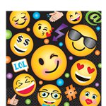Smiley Luncheon Napkins - 2ply Paper