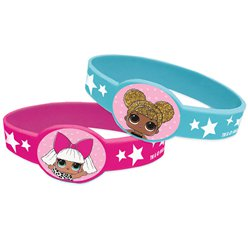 L.O.L Surprise Rubber Bracelets