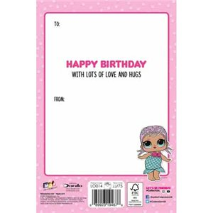 LOL Surprise Daughter Birthday Card