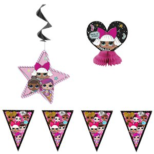 L.O.L Surprise Decoration Kit