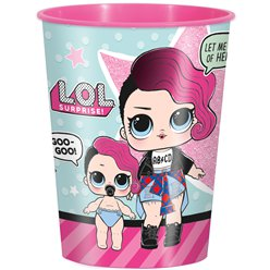 L.O.L Surprise Plastic Favour Cup - 455ml