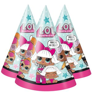 L.O.L Surprise Paper Party Hats