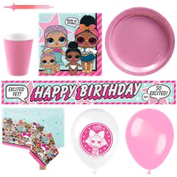 L.O.L Surprise Deluxe Party Kit - For 16
