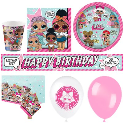 L.O.L Surprise Deluxe Party Kit