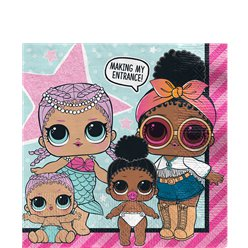L.O.L Surprise Paper Napkins - 33cm