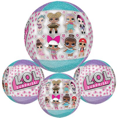 "L.O.L Surprise Orbz Balloon - 16"" Foil"