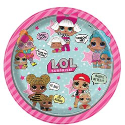 L.O.L Surprise Plates - 23cm Paper Party Plates