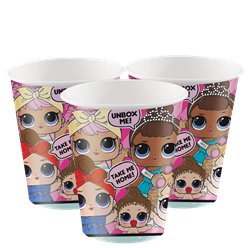 L.O.L Surprise Paper Cups - 256ml