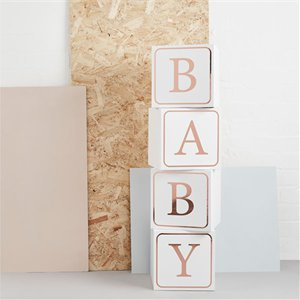 Baby Blocks 4pk (Hello Little One)
