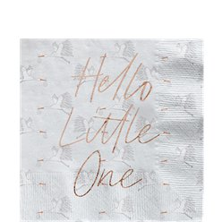 Hello Little One Paper Napkins - 33cm